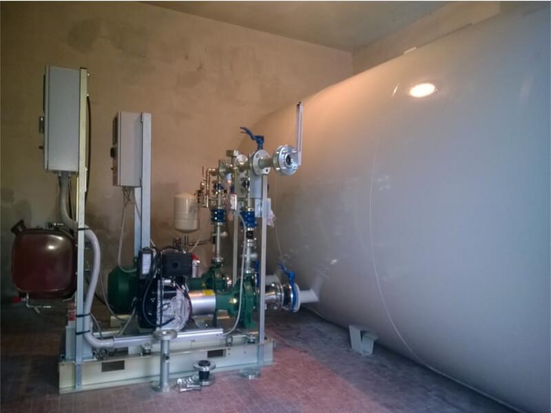 Impianti antincendio: MF CI/MF CO pompe