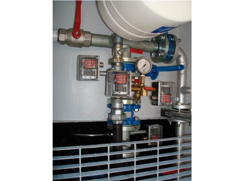 Impianti antincendio: MF CI/MF CO particolare