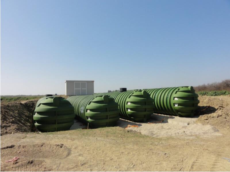 impianto recupero acqua piovana