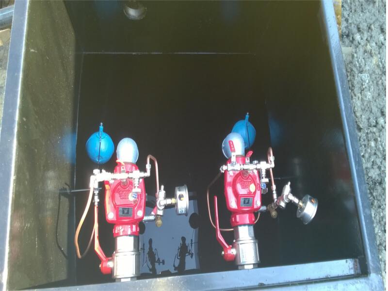 Impianti antincendio: MF CI-VERT pompe