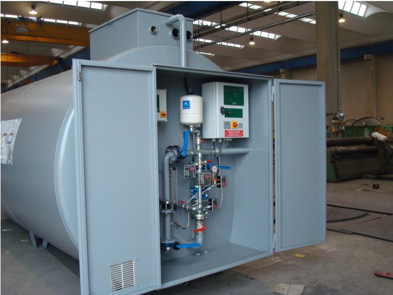 Impianti antincendio: MF CI-TSUB/MF CI-SUB pompe
