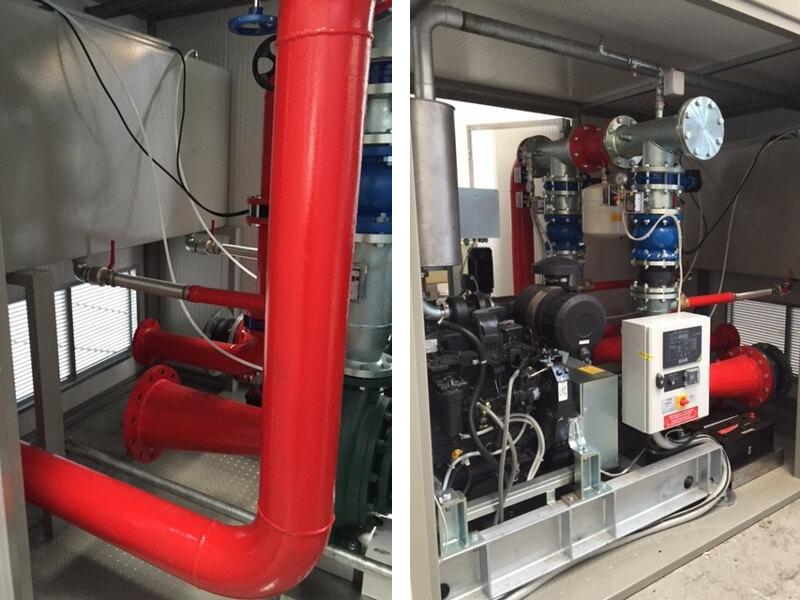 Impianti antincendio: MF TBOX particolareinterno