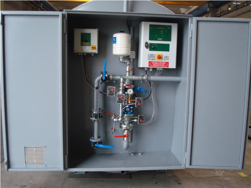 Impianti antincendio: MF CI-TSUB/MF CI-SUB esterno