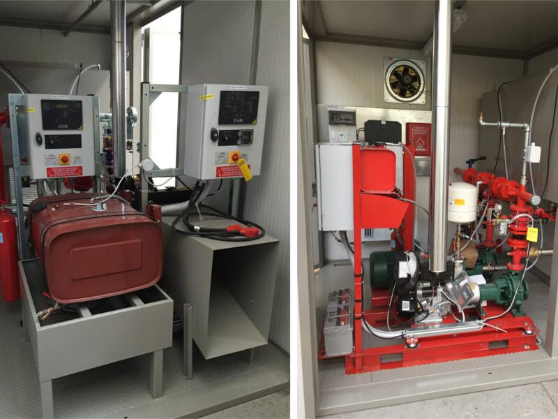 Impianti antincendio: MF TBOX particolare interno