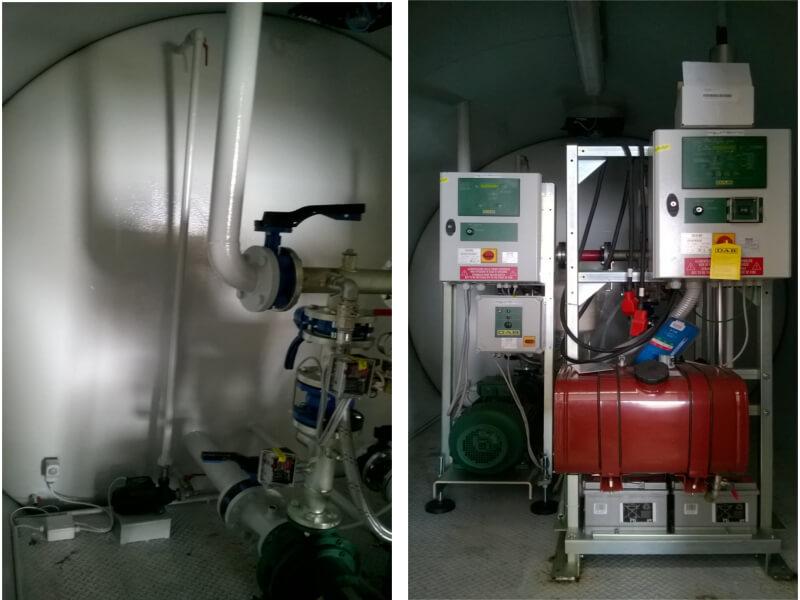 Impianti antincendio: MF CO-TI interno