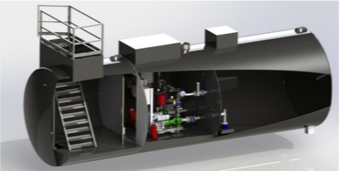 Impianti antincendio: MF CI-TIU con parapetto