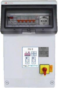 Impianti antincendio: Quadro elettrico CU 2 img