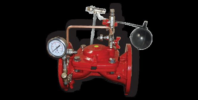 Impianti antincendio: Valvola di riempimento img.