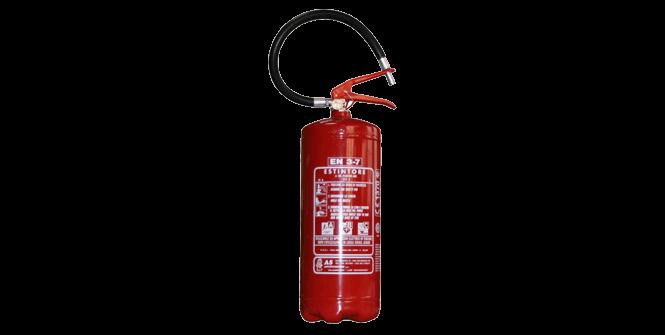 Impianti antincendio: Estintore a polvere img.