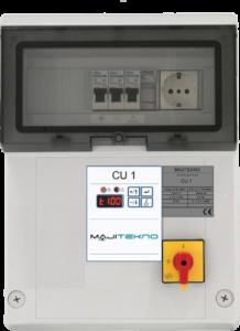 Impianti antincendio: Quadro elettrico CU1
