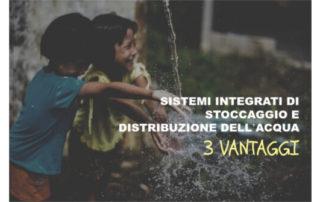 Sistemi integrati gestione acqua: vantaggi